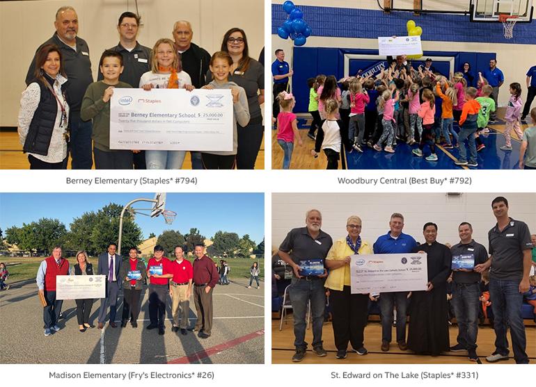 Score with Intel® Core™ school winners
