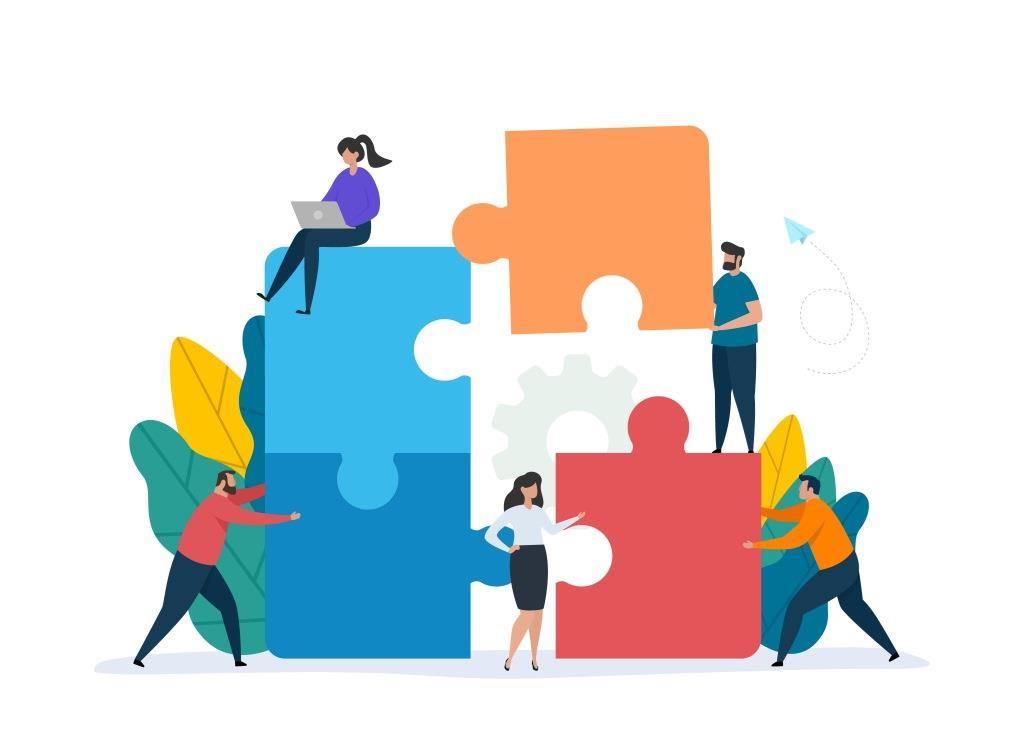Retail sales associate team building