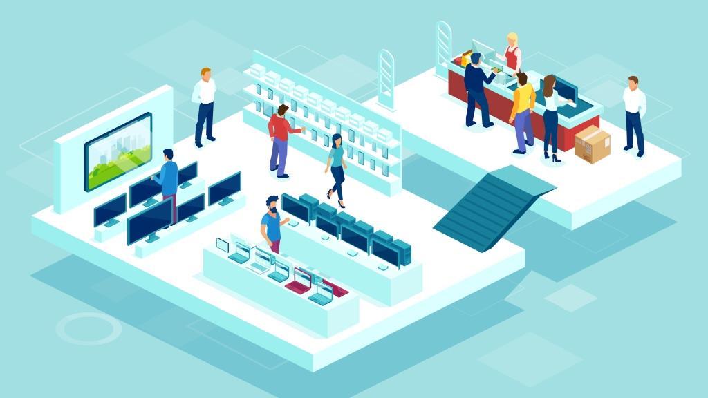 Computer Retail Sales Associates