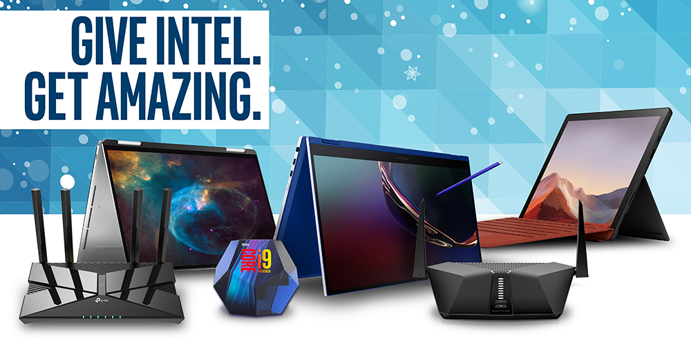Intel Holiday Lookbook 2019