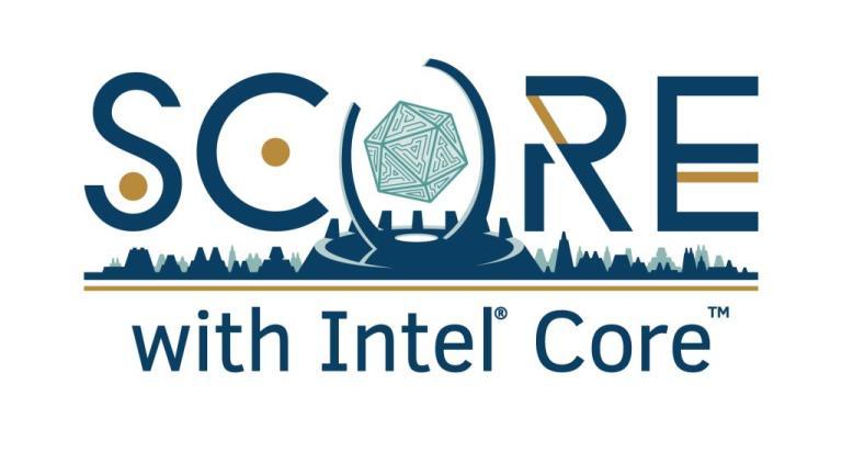 Score with Intel Core